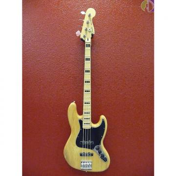 Custom Fender Deluxe Active Jazz Bass Ash, Natural, Gig Bag Included