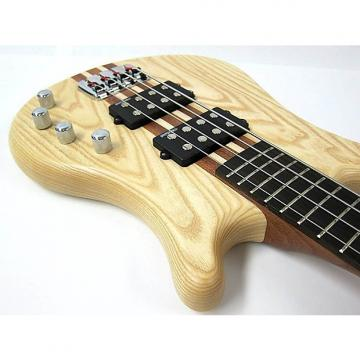 Custom Kona 4 String Bass Ash Wood - Model: KWB4A