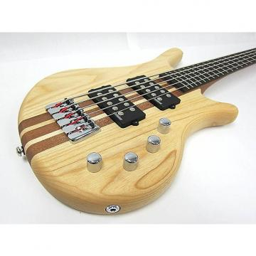 Custom Kona Dreadnoought Spelli Trans Brown with Built-in Tuner, 5 string - Model: KWB5A