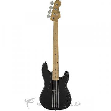 Custom Fender Roger Waters Precision Maple FB Electric Bass Guitar Black - 0147000306 -  717669768065