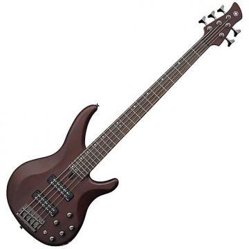 Custom Yamaha TRBX505 5-String Electric Bass Guitar Translucent Brown B-STOCK (B2)