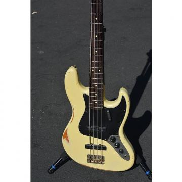 Custom Nash JB-63 Bass 2016 Vintage White