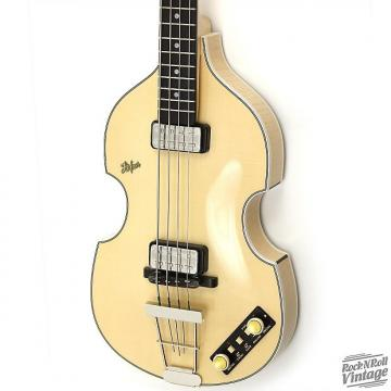 Custom Hofner 500-1 WHP Violin Bass Natural B-Stock