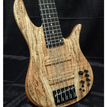 Custom Fodera Monarch Elite 5 String 2016 Spalted Maple
