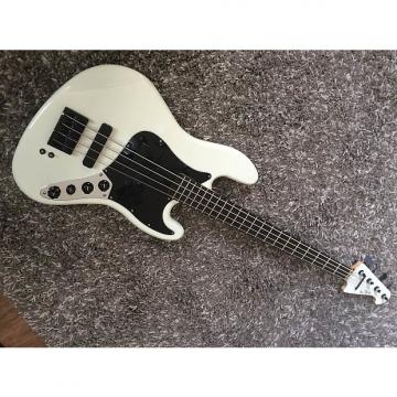 Custom Low End Jazz bass white stealth LEJ4