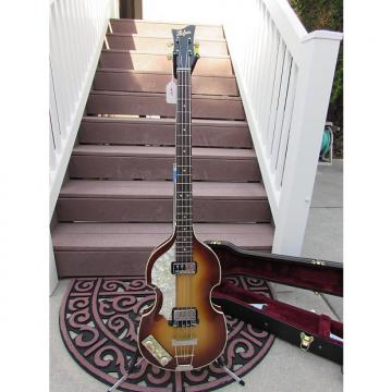 Custom HOFNER 500/1 RARE 1960'S BROWN SUNBURST