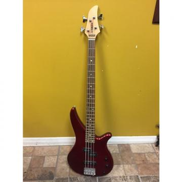 Custom 2005 Yamaha RBX170 4-String Electric Bass Guitar-Red Color