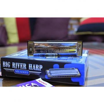 Custom Hohner Big River Harp MS Series 590 Key of C 2016