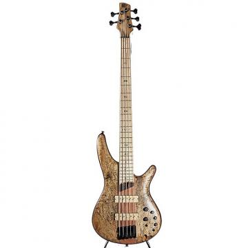 Custom Ibanez SR5SMLTD Natural Flat 5-string Electric Bass w/ Case