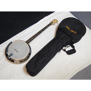 Custom GOLD TONE CC-Plectrum Cripple Creek 4-string BANJO new w/ GIG BAG