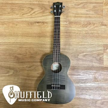 Custom Kala KA-TEMBK Exotic Mahogany Series Tenor Ukulele 2016 Black Transparent