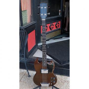 Custom Gibson EB-4L 1972 Brown