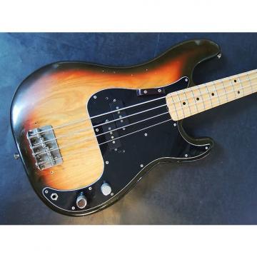 Custom Fender Precision Bass 1970s S9 Series CBS Era 3 Tone Sunburst