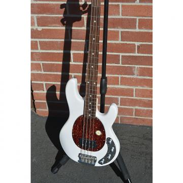 Custom Sterling by Music Man Ray 34 Bass 2015 Pearl White