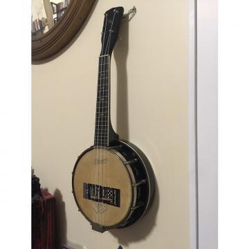 Custom J. R. Stewart Company Le Domino Banjo Ukelele 1920s Black