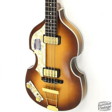 Custom Hofner 500/1 Ed Sullivan Violin Bass Sunburst B-Stock