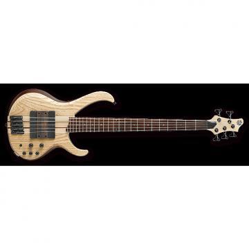 Custom Ibanez BTB33 NTF 5-String Short Scale Electric Bass Guitar - Flat Natural Finish