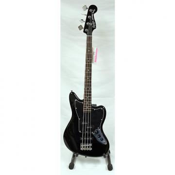 Custom Squier Vintage Modified Jaguar Bass Special SS Black