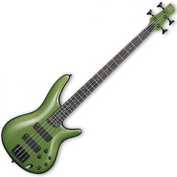 Custom Ibanez SR300B MKK SR Series Electric Bass Guitar Metallic Khaki Finish