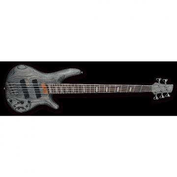 Custom Ibanez SRFF805 BKS SR Series 5-String Multi-Scale Electric Bass Black Stained