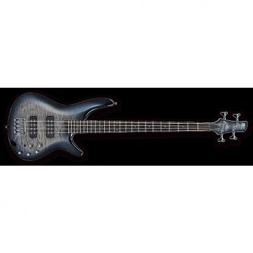 Custom Ibanez SR400EQMFBB SR 4-String Quilted Maple Top Electric Bass Faded Blue Burst