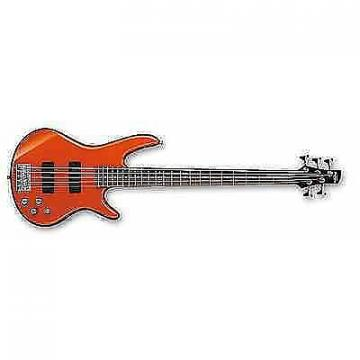 Custom Ibanez GSR205ROM GIO 5-String Electric Bass Guitar Roadster Orange Metallic