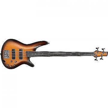 Custom Ibanez SR370 BBT SR Maple Body 4-String Electric Bass Guitar Brown Burst Finish