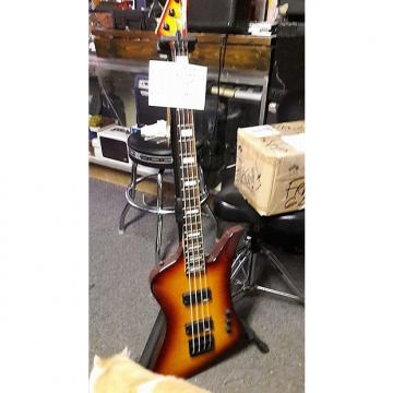 Custom Jackson Kellybird bass 1st year 2014 cherryburst