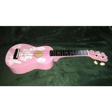 Custom Keiki Ukulele - Pink Floral - Free Shipping!
