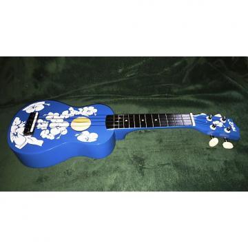 Custom Keiki Ukulele - Blue Floral - Free Shipping!