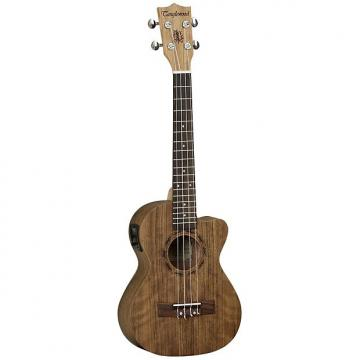 Custom Tanglewood TU OV ET Tenor Electro Ukulele with free padded gig bag
