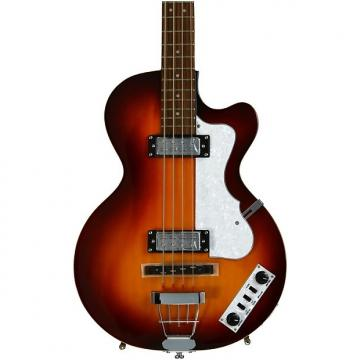Custom Hofner Ignition Club Bass - Sunburst w/Hardshell Case
