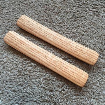 """Custom Whamdiddle Minstrel-Style """"Bones,"""" Oak"""