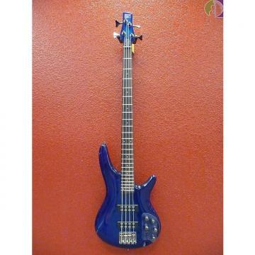 Custom Ibanez Soundgear SR370ESPB 4-String Bass Guitar, Sapphire Blue