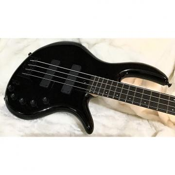 Custom Elrick Expat e-Volution 4-string bass. Gloss Piano Black, Ebony. Under 7 lbs.