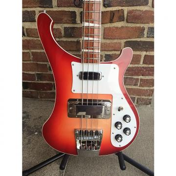 Custom Rickenbacker 4003 Electric 4 String Bass Fireglo MINT! with Case & Case Candy