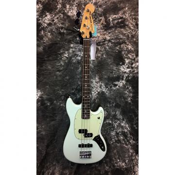 Custom Fender Offset Series Mustang PJ Bass 2016 Sonic Blue, Rosewood Fretboard