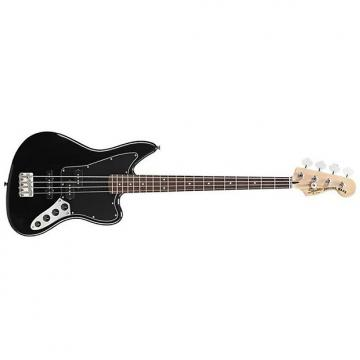 Custom Fender Squier Vintage Modified Jaguar Bass Black