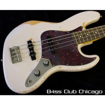 Custom Fender Flea Signature Jazz Bass 2016 Shell Pink Relic