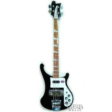 Custom Rickenbacker True Classic 4003 Electric Bass Black Jetglo Stereo W/Case - 4003JG
