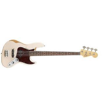 Custom Fender Flea Jazz Bass Electric Bass Guitar Road Worn Shell Pink