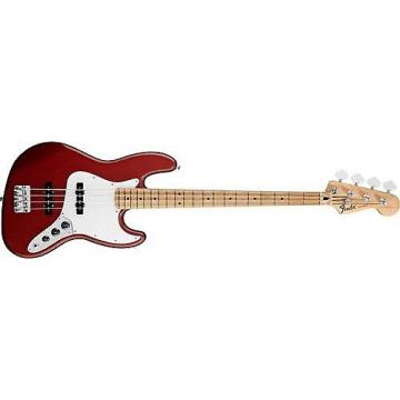 Custom Fender Standard Jazz Bass (Candy Apple Red, Maple Fingerboard)