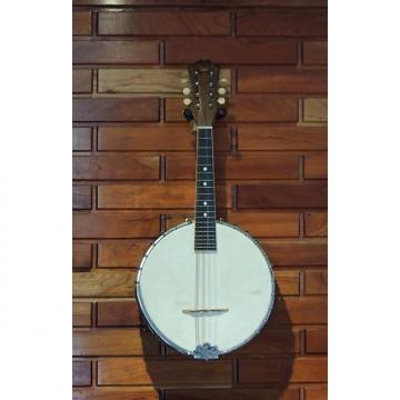 Custom Vega Fairbanks White Layde Banjo Mandolin c1924