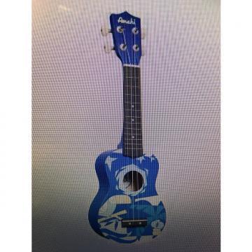Custom Amahi DDUK2 2016 Blue & White Uke