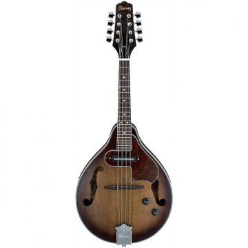 Custom Ibanez M510E A-Style Acoustic Electric Mandolin - Open Pore Vintage Sunburst