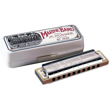 Custom Hohner 1896 Marine Band Harmonica - Key of G