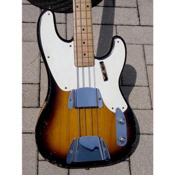 Custom Fender PRECISION Bass 1955 2 Tone Sunburst