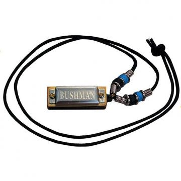 Custom Bushman Mini Harmonica Necklace Key of C