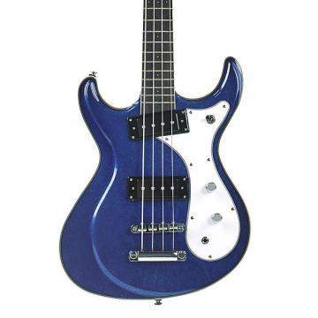 Custom Eastwood Sidejack Bass 32 Metallic Blue - Demo Model
