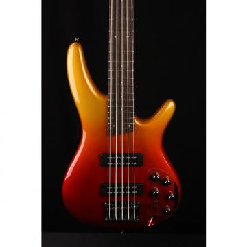 Custom Ibanez SR305 Electric Bass Guitar in Autumn Fade Metallic